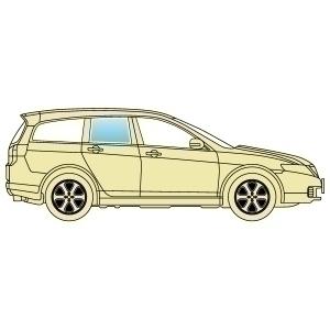 Стекло боковое Mitsubishi Galant EA 1997-2004