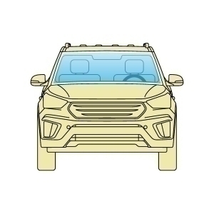 Лобове скло Acura MDX 2006-2013