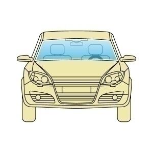 Лобове скло Nissan Micra K13 2011+