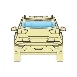 Скло заднє Subaru Tribeca 2005-2014 B9 / B10