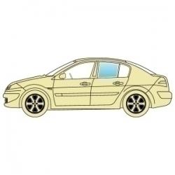 Скло бокове Opel Insignia 2008+