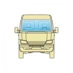 Лобове скло Opel Movano 1998-2010