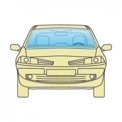 Лобове скло Opel Vectra A 1988-1995