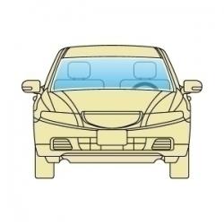 Лобове скло Subaru Legacy Outback 2004-2009