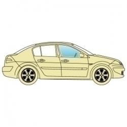 Скло бокове Subaru Legacy 1995-1999