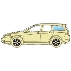 Скло бокове Subaru Legacy Outback 2004-2009