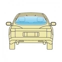 Скло заднє Opel Kadett E 1985-1991