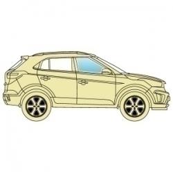 Скло бокове Subaru Xv 2012+