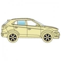 Скло бокове Audi Q7 2006+