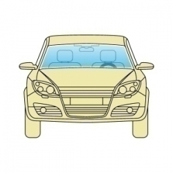 Лобовое стекло Nissan Micra K13 2011+