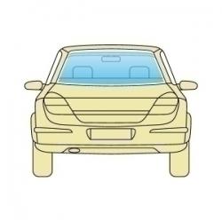 Скло заднє Opel Ascona 1981-1988